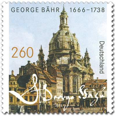Briefmarke Frauenkirche