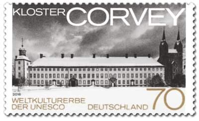 Briefmarke Kloster