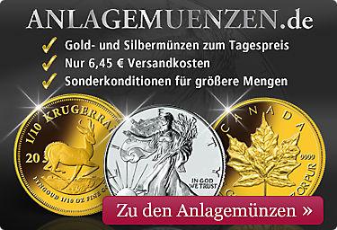 Anlagemünzen aus Gold und Silber!