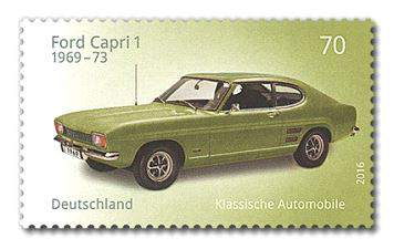 Briefmarke Ford