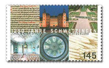 Briefmarke Schwetzingen