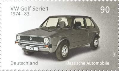 Klassische deutsche Automobile VW Golf I
