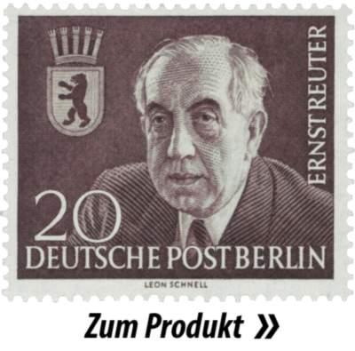 Briefmarke mit Ernst Reuter