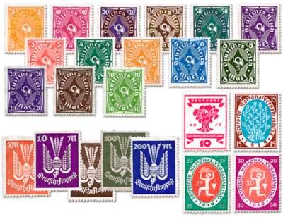 Die Briefmarken Ihrer dritten Lieferung