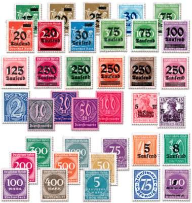 Die Briefmarken Ihrer vierten Lieferung