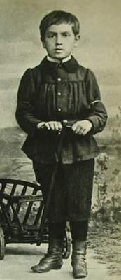 Ernst Reuter mit 7 Jahren