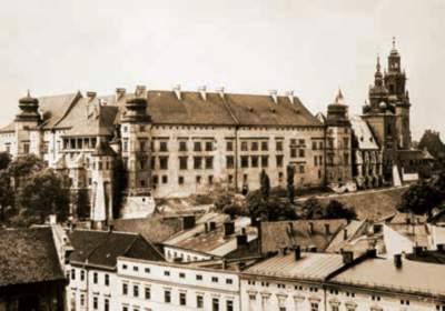 Verwaltungssitz des Generalgouvernements in Krakau