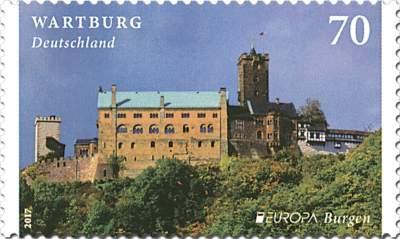 """Dauerserie """"Burgen und Schlösser"""" Wartburg"""