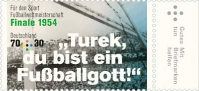 Briefmarkenserie Für den Sport - Legendäre Fußballspiele