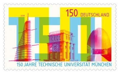 Briefmarke Technische Universität München