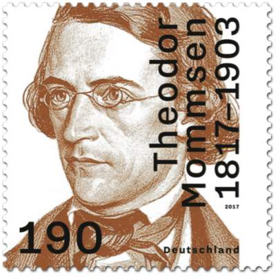 Briefmarke 200. Geburtstag von Theodor Mommsen