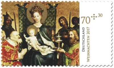 Weihnachtsbriefmarke 2017