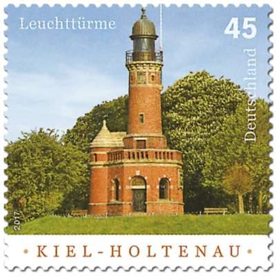 """Briefmarkenserie """"Leuchttürme"""": Kiel-Holtenau"""