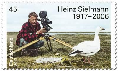 Briefmarke 100. Geburtstag Heinz Sielmann