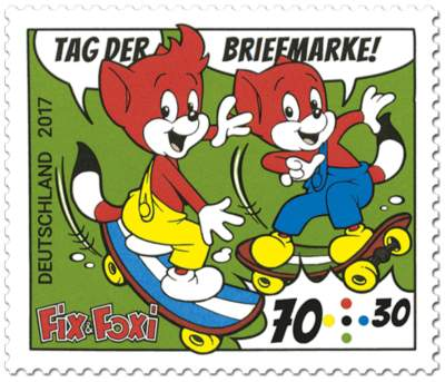 "Briefmarken-Serie Tag der Briefmarke ""Fix & Foxi"""