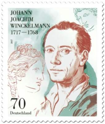 Briefmarke 300 Geburstag Johann Joachim Winckelmann