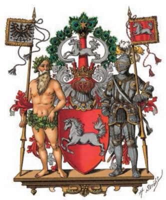 Das Wappen der Provinz Hannover