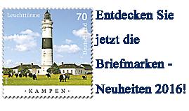 Briefmarken Neuheiten Deutschland