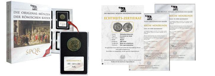Das exklusive Zubehör zu Ihrer Kollektion aus der römischen Kaiserzeit