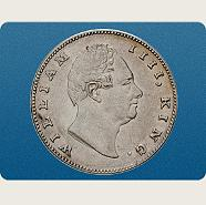 Rupee William IV.