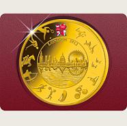 Gold zu London 2012