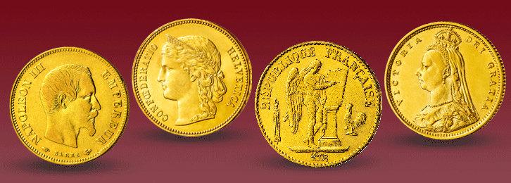 Gold des 19. Jahrhunderts - Kollektion