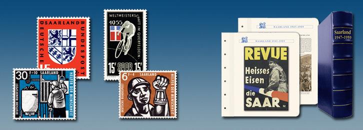 Saarland 1947-1959 - Kollektion