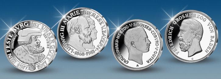 Die wertvollsten Silbermünzen Deutschlands