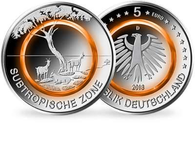 5 Euro Münze 2018