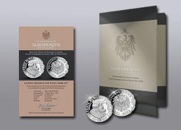 Zubehör Silber der Deutschen