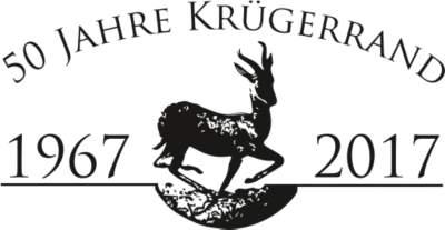 50 Jahre Krügerrand Logo