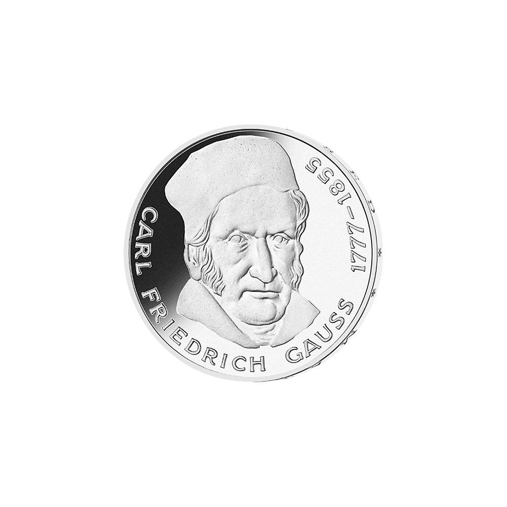 5 Dm Münze Gauß Deutschland 1977 Münzen Günstigerde