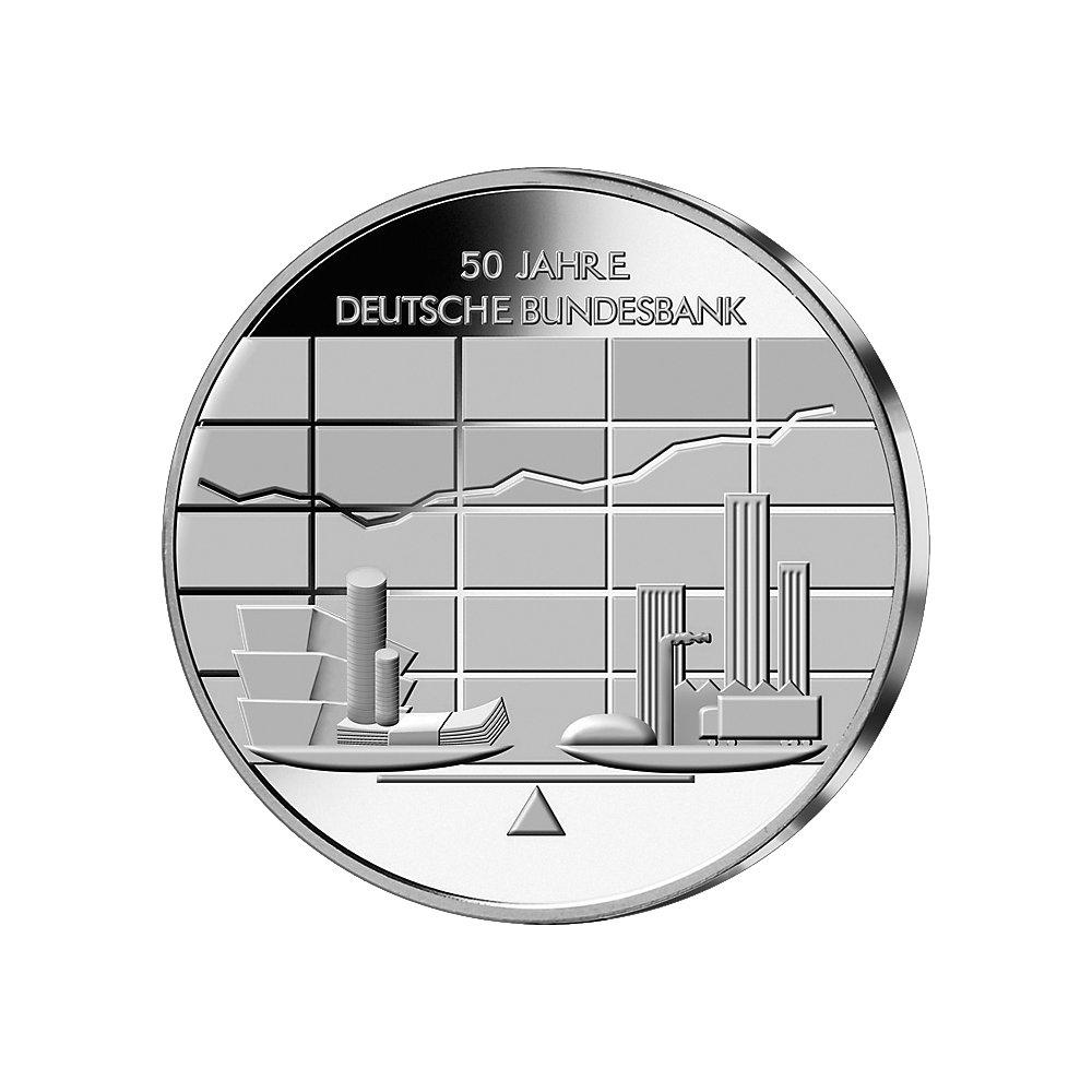10 Euro Silber Münze Dt Bundesbank 2007 10 Euro Münzen Euro
