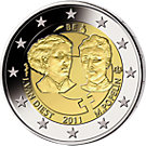 2 € Belgien 2011 Internationaler Frauentag