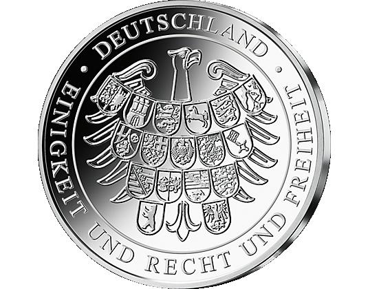 Münze 10 Jahre Deutsche Einheit Wert Ausreise Info