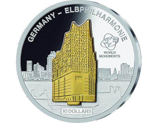 Silbermünze World Monuments Deutschland Mdm Deutsche Münze