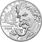 1 USD Silbermünze USA 2016 Mark Twain PP