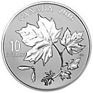 10 CAD Silbermünze Kanada Maple Leaves 2016 PP
