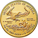 5 USD Goldmünze USA American Gold Eagle 2016 PP