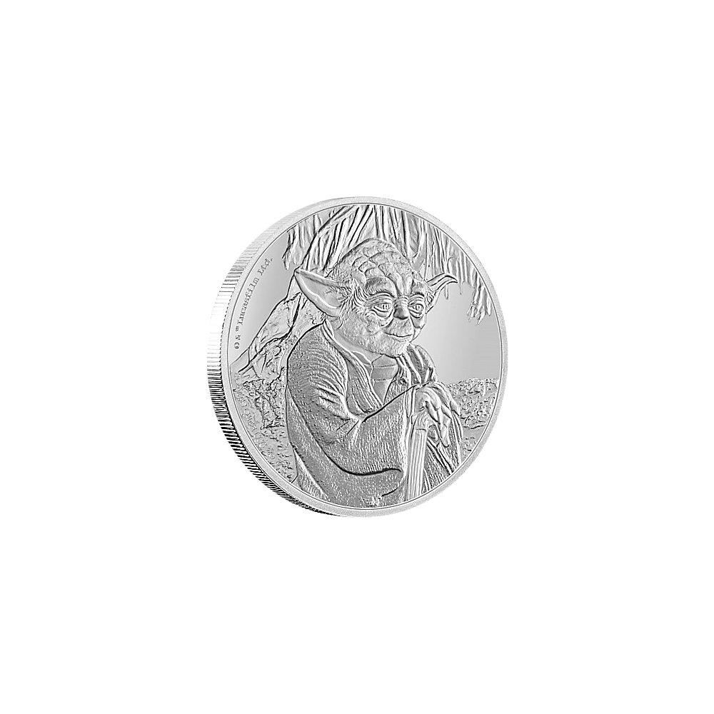 2 Dollar Silber Niue Star Wars Yoda Münzen Günstigerde