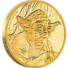 25 Dollar Goldmünze Niue Star Wars Yoda 2016 PP