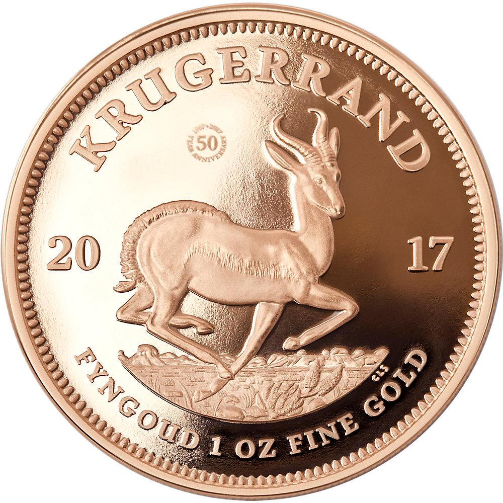 1 Oz Gold Krügerrand 2017 Pp Münzen Günstigerde