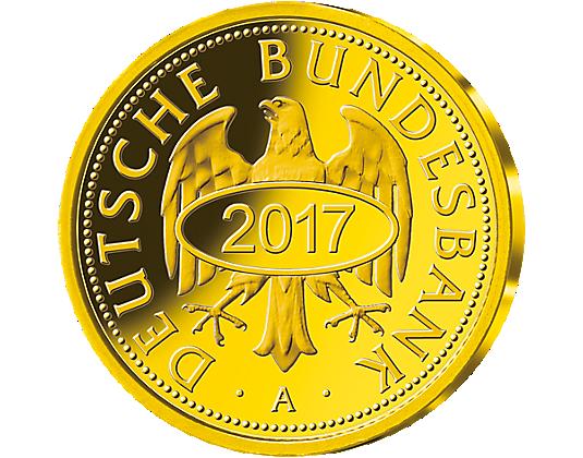 Neuprägung Goldmark Münze Berlin Mdm Deutsche Münze