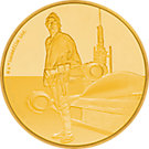 25 NZD Goldmünze Niue Luke Skywalker 2017 PP