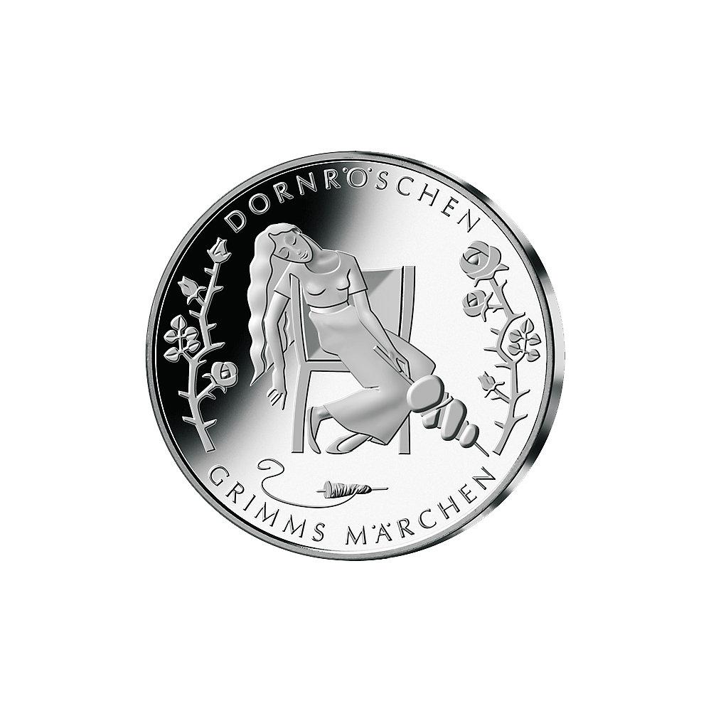 10 Euro Münze Dornröschen Deutschland 2015 Münzen Günstigerde