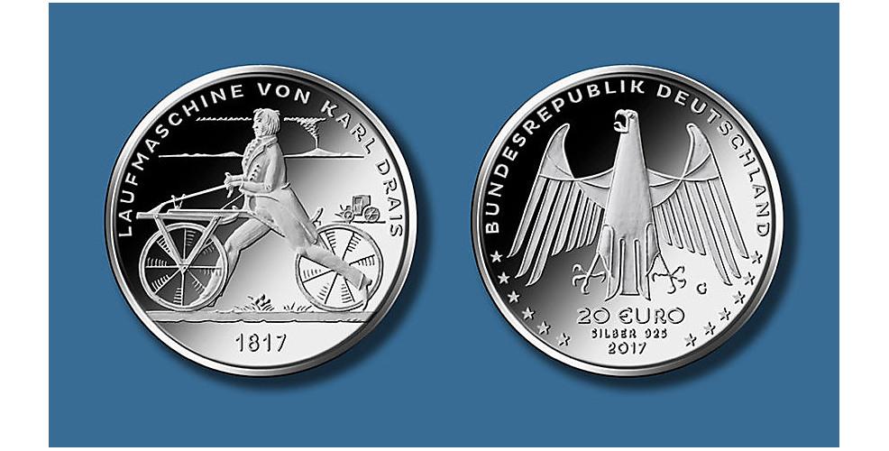 20€ 200 Jahre Zweiradprinzip