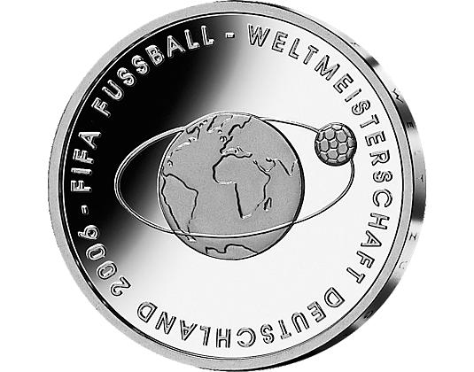 Fifa Fussball Weltmeisterschaft Deutschland 2006 10 Euro Münze Wert