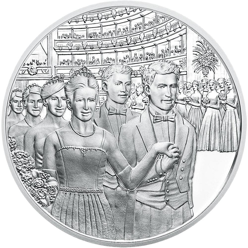 20 Euro Silber österreich Wiener Opernball 2016 Pp Münzen