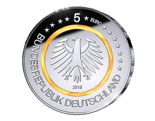 Wann Kommt Die 5 Euro Münze 2018 Ausreise Info