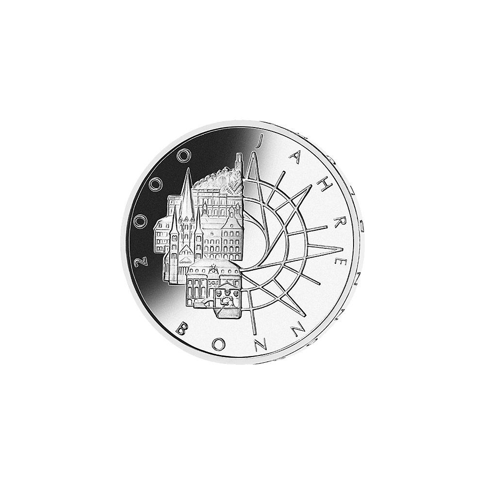 10 Dm Silber Münze 2000 Jahre Bonn 1989 10 Dm Münzen Dm Münzen